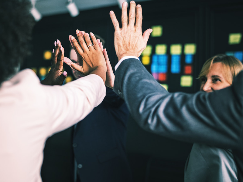 Group High Five. How To Exceed Your Sales Plan With Outsourcing