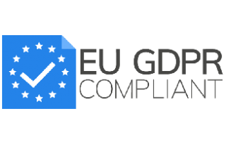 EU GDPR Compliance Logo for Mindy Support Outsourcing