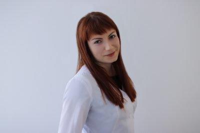 Radiologist Iryna Vasyliv